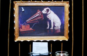 His Master's Voice detail